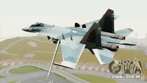 Sukhoi SU-27 PMC Reaper Squadron para GTA San Andreas esquerda vista