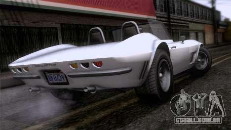GTA 5 Invetero Coquette Classic TL para GTA San Andreas esquerda vista