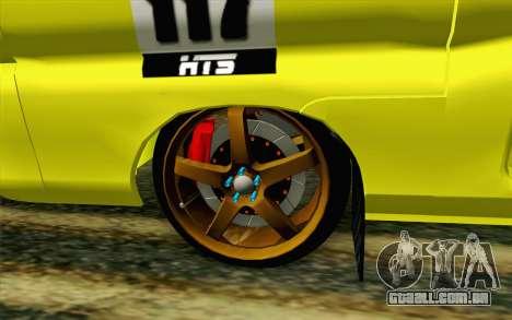 Daihatsu Espass Angkot YRT para GTA San Andreas traseira esquerda vista