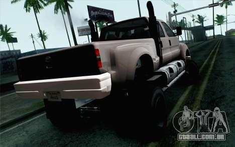Vapid Guardian GTA 5 para GTA San Andreas esquerda vista