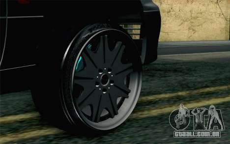 Lexus GS 300 para GTA San Andreas traseira esquerda vista