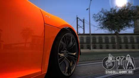 ENBG 2.0 para GTA San Andreas por diante tela