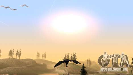 A possibilidade de GTA V para jogar bird V. 1 para GTA San Andreas sexta tela