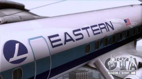 L-188 Electra Eastern Als para GTA San Andreas vista traseira