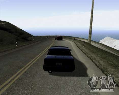 LineFlex ENBseries para GTA San Andreas segunda tela