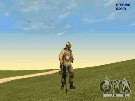 O policial da milícia de Moscou para GTA San Andreas segunda tela
