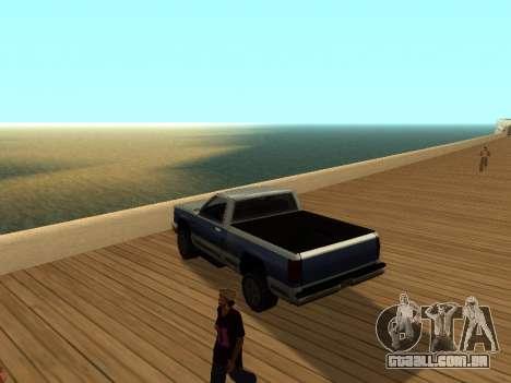 ENB v3 para GTA San Andreas por diante tela