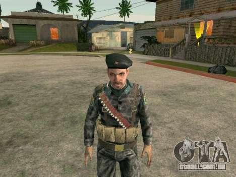 Cine forças especiais da URSS para GTA San Andreas