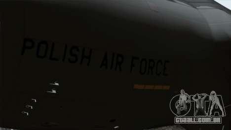 C-17A Globemaster III PAF para GTA San Andreas vista direita