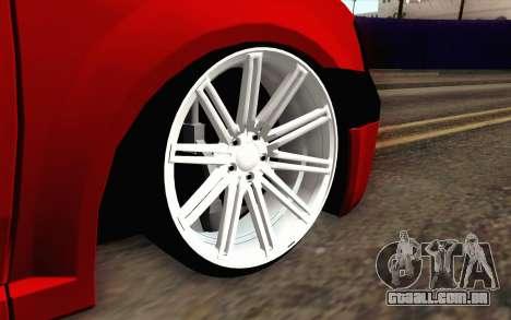 Dac 2.65 FAEG para GTA San Andreas traseira esquerda vista