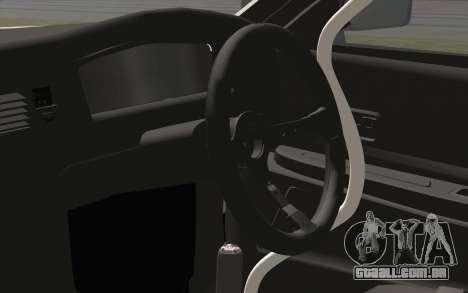 Toyota Chaser para GTA San Andreas vista traseira