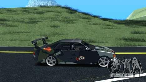 Toyota Chaser Tourer V Fail Crew para GTA San Andreas traseira esquerda vista