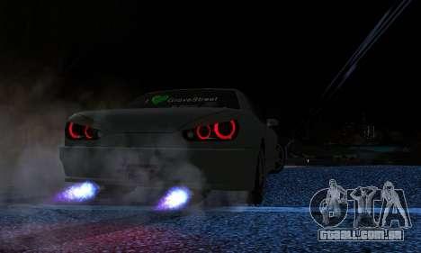 Elegy I Love GS v1.0 para GTA San Andreas vista direita