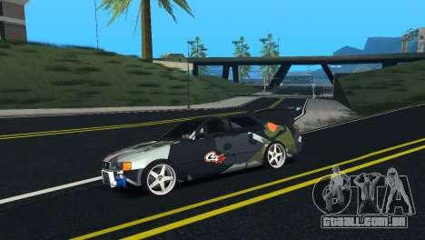 Toyota Chaser Tourer V Fail Crew para GTA San Andreas esquerda vista