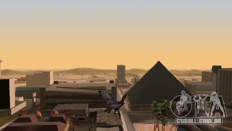 A possibilidade de GTA V para jogar bird V. 1 para GTA San Andreas por diante tela