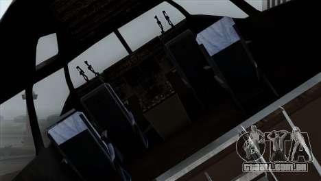 C-17A Globemaster III PAF para GTA San Andreas vista traseira