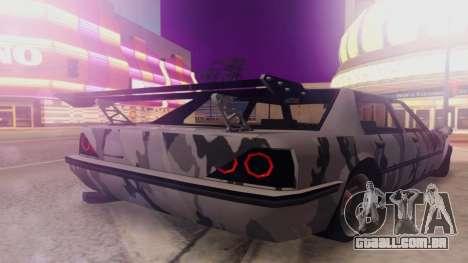 Vincent 3.0 para GTA San Andreas esquerda vista