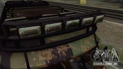UAZ 2206 Pão para GTA San Andreas vista direita