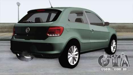 Volkswagen Golf Trend para GTA San Andreas esquerda vista