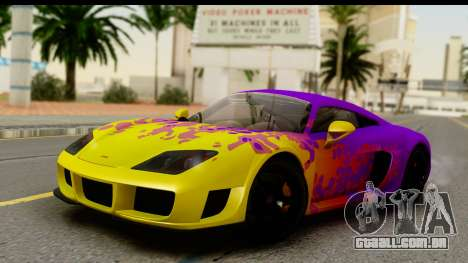 Noble M600 2010 HQLM para GTA San Andreas interior
