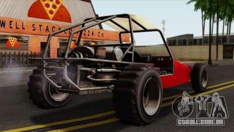 GTA 5 Dune Buggy SA Mobile para GTA San Andreas esquerda vista