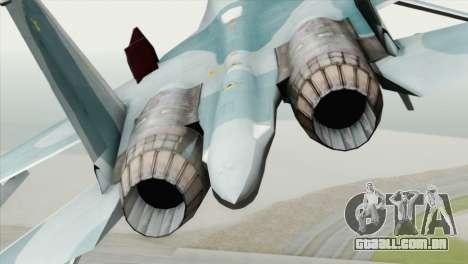 Sukhoi SU-27 PMC Reaper Squadron para GTA San Andreas vista traseira