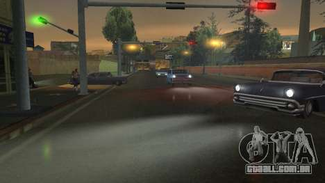 Estrada Reflexões Fix 1.0 для GTA San Andreas para GTA San Andreas sexta tela