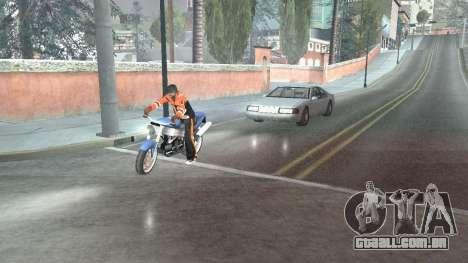 Estrada Reflexões Fix 1.0 для GTA San Andreas para GTA San Andreas segunda tela