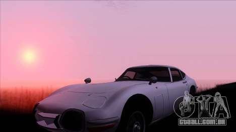 ENB Gamerealfornia v1.00 para GTA San Andreas segunda tela