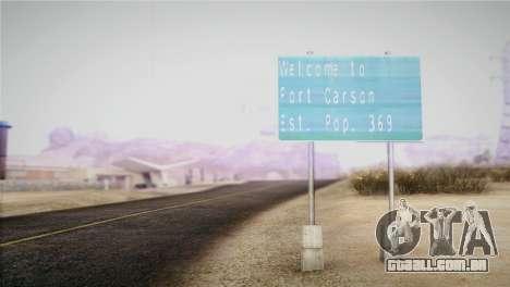 Horizontal ENB 0.076 Medium v1.0 para GTA San Andreas segunda tela