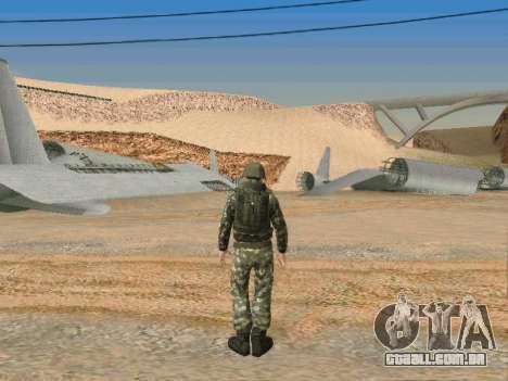 Cine forças especiais da URSS para GTA San Andreas sétima tela