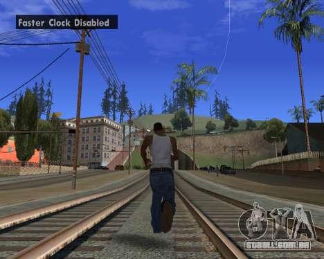 GTA 5 Timecyc v2 para GTA San Andreas segunda tela