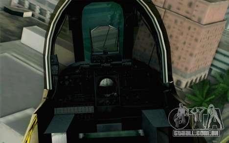 A-10 Desert Camo para GTA San Andreas vista direita
