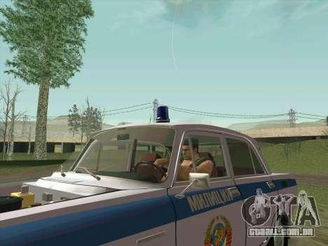 Moskvich 2140 Polícia para o motor de GTA San Andreas