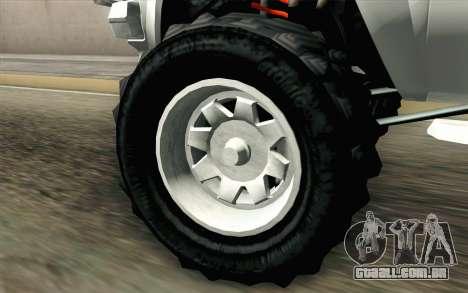 Technical from GTA 5 para GTA San Andreas traseira esquerda vista