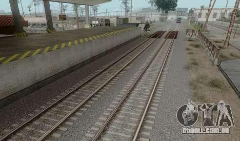 HD Trilhos v3.0 para GTA San Andreas terceira tela