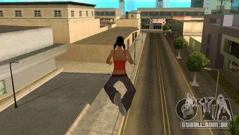 Cleo Fly para GTA San Andreas segunda tela