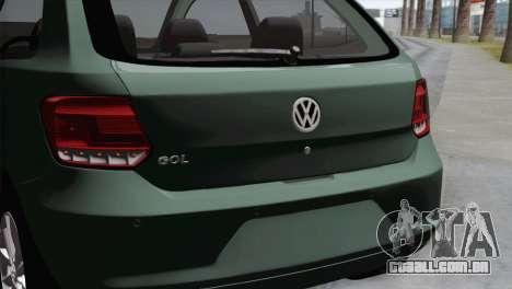 Volkswagen Golf Trend para GTA San Andreas vista direita