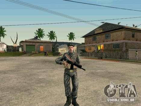 Cine forças especiais da URSS para GTA San Andreas por diante tela