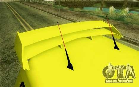 Daihatsu Espass Angkot YRT para GTA San Andreas vista traseira