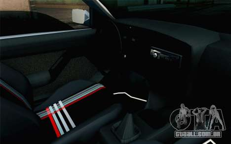 Volkswagen Golf Mk3 Eurolook para GTA San Andreas vista direita