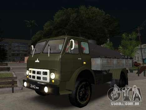 MAZ 503 encanador para GTA San Andreas