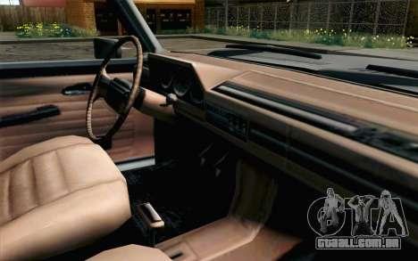 Pickup from Alan Wake para GTA San Andreas vista direita