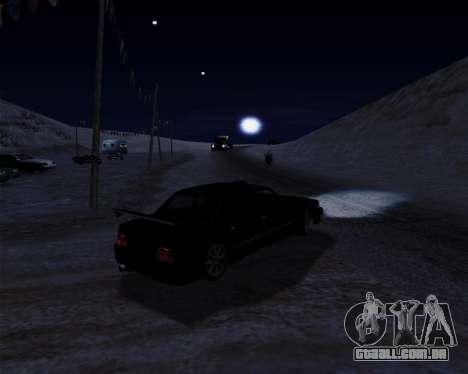 LineFlex ENBseries para GTA San Andreas quinto tela