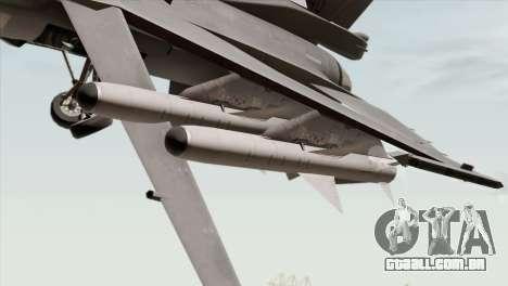 F-16C Block 52 para GTA San Andreas vista direita