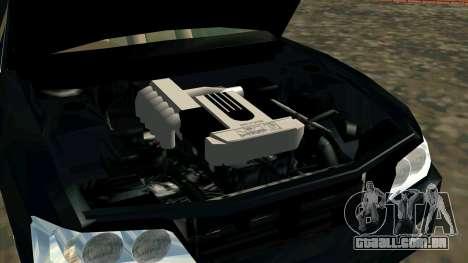 Nissan Laurel GC35 Kouki para GTA San Andreas vista direita
