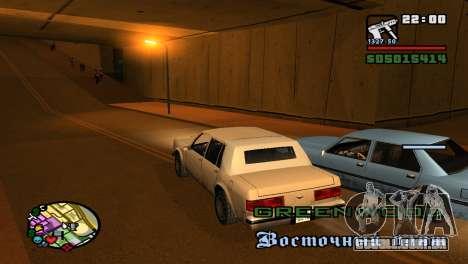 Para aumentar ou diminuir o radar em GTA V para GTA San Andreas segunda tela