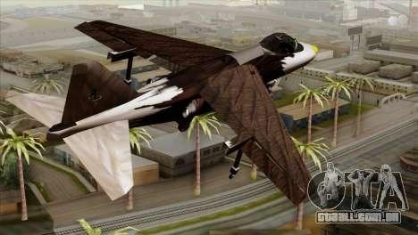 Hydra Eagle para GTA San Andreas esquerda vista