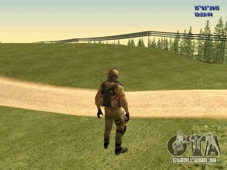 O policial da milícia de Moscou para GTA San Andreas terceira tela