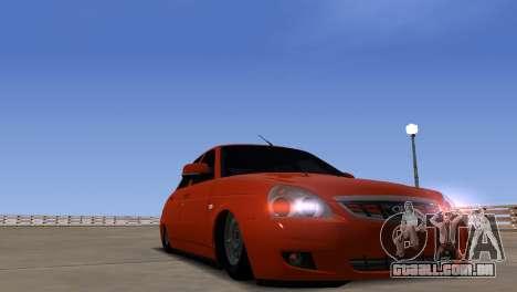 ENB por meio do PC para GTA San Andreas sexta tela